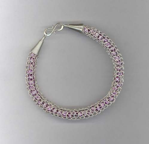 Silver Lace & Pearls bracelet - Yes! you get to choose your pearls!