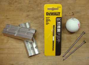 Materials & a couple of specific tools, one indispensable and one tremendously helpful.